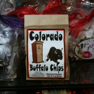 Photo of package of Colorado Buffalo Chips candy