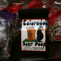 Photo of package of Colorado Bear Poop candy