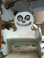 Creepy Panda Chair