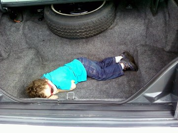Virgil (Jadon Laying In Trunk)