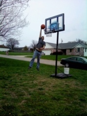 Tim One-Handed Dunk