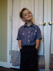 Jadon Before Graduation