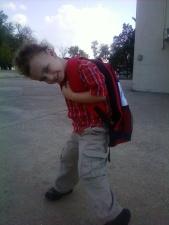 Jadon With Backpack