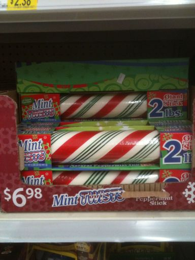 2 Pound Candy Cane Stick